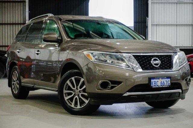 Used Nissan Pathfinder R52 MY14 ST X-tronic 2WD Osborne Park, 2014 Nissan Pathfinder R52 MY14 ST X-tronic 2WD Grey 1 Speed Constant Variable Wagon