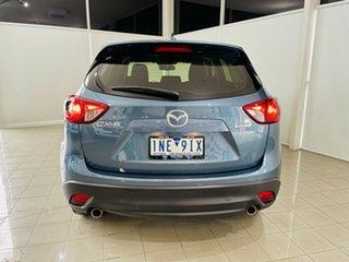 2017 Mazda CX-5 KF2W7A Maxx SKYACTIV-Drive FWD Blue 6 Speed Sports Automatic Wagon.