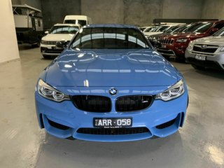 2016 BMW M4 F83 Competition M-DCT Blue 7 Speed Sports Automatic Dual Clutch Convertible.
