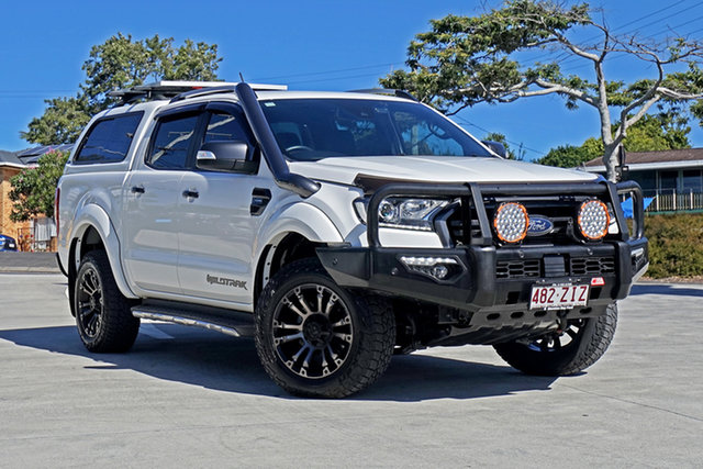 Used Ford Ranger PX MkIII 2019.00MY Wildtrak Capalaba, 2019 Ford Ranger PX MkIII 2019.00MY Wildtrak White 10 Speed Sports Automatic Double Cab Pick Up