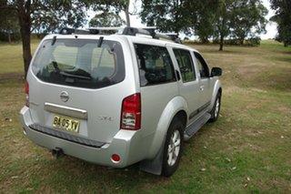 2009 Nissan Pathfinder R51 MY08 ST-L Silver, Chrome 6 Speed Manual Wagon