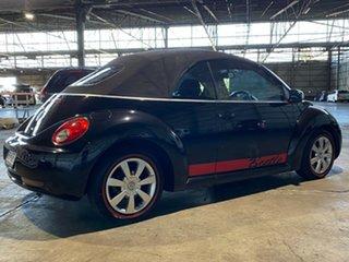 2006 Volkswagen Beetle 1Y MY2006 Black 6 Speed Sports Automatic Cabriolet