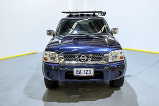 2014 Nissan Navara D22 S5 ST-R Blue 5 Speed Manual Utility.