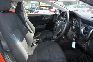 2017 Toyota Corolla ZRE182R Ascent S-CVT Orange 7 Speed Constant Variable Hatchback