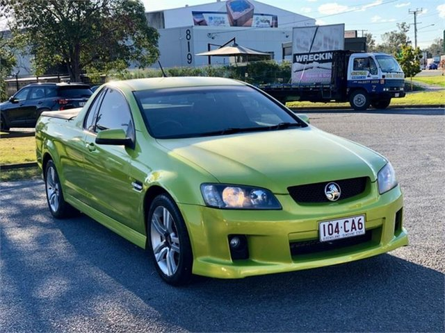 Used Holden Ute VE SV6 Archerfield, 2008 Holden Ute VE SV6 Green 6 Speed Manual Utility