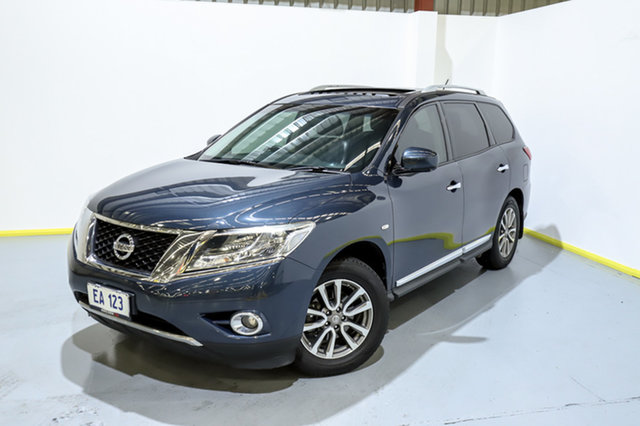 Used Nissan Pathfinder R52 MY15 ST-L X-tronic 4WD Canning Vale, 2015 Nissan Pathfinder R52 MY15 ST-L X-tronic 4WD Blue 1 Speed Constant Variable Wagon
