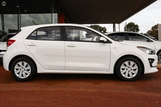 2021 Kia Rio YB MY22 S White 6 Speed Automatic Hatchback