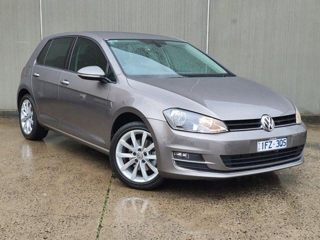 Used Volkswagen Golf VII MY16 110TSI DSG Highline Oakleigh, 2016 Volkswagen Golf VII MY16 110TSI DSG Highline Grey 7 Speed Sports Automatic Dual Clutch