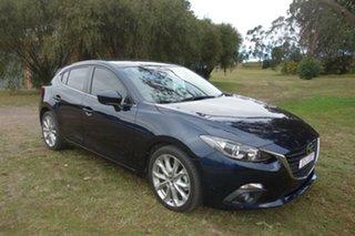 2014 Mazda 3 BM5436 SP25 SKYACTIV-MT Blue 6 Speed Manual Hatchback.