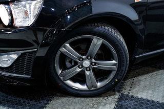 2014 Holden Barina TM MY14 RS Black 6 Speed Manual Hatchback