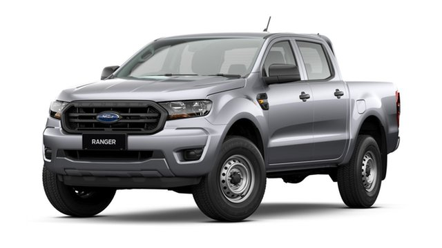 New Ford Ranger PX MkIII 2021.75MY XL Victoria Park, 2021 Ford Ranger PX MkIII 2021.75MY XL Aluminium Silver 6 Speed Sports Automatic Double Cab Pick Up