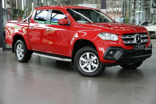 Used Mercedes-Benz X-Class 470 X250d 4MATIC Progressive North Melbourne, 2018 Mercedes-Benz X-Class 470 X250d 4MATIC Progressive Red 7 Speed Sports Automatic Utility