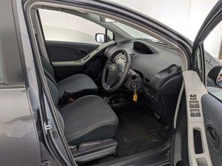 2010 Toyota Yaris NCP90R MY10 YR Grey 4 Speed Automatic Hatchback