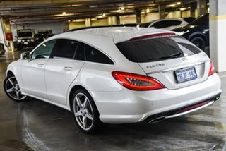 2013 Mercedes-Benz CLS-Class X218 CLS250 CDI BlueEFFICIENCY 7G-Tronic + Shooting Brake White 7 Speed.