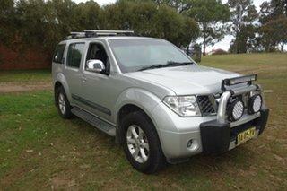 2009 Nissan Pathfinder R51 MY08 ST-L Silver, Chrome 6 Speed Manual Wagon.