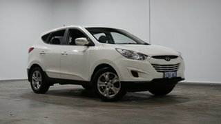 2012 Hyundai ix35 LM MY12 Active White 6 Speed Sports Automatic Wagon.