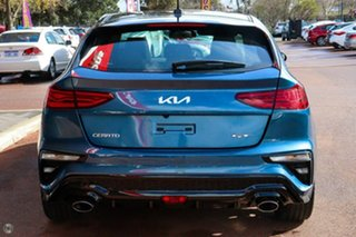 2021 Kia Cerato BD MY22 GT DCT Blue 7 Speed Sports Automatic Dual Clutch Hatchback.