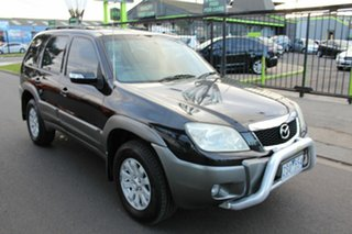 2007 Mazda Tribute Luxury Black Automatic Wagon.