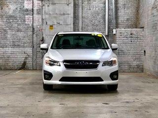 2013 Subaru Impreza G4 MY13 2.0i-L Lineartronic AWD White 6 Speed Constant Variable Sedan.