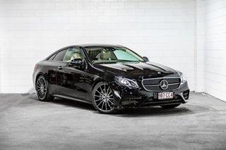 2018 Mercedes-Benz E-Class C238 808+058MY E220 d 9G-Tronic PLUS Black 9 Speed Sports Automatic Coupe.