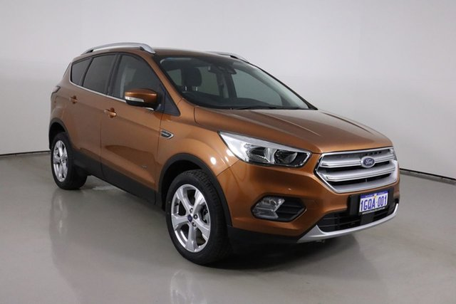 Used Ford Escape ZG Trend (AWD) Bentley, 2017 Ford Escape ZG Trend (AWD) Bronze 6 Speed Automatic SUV