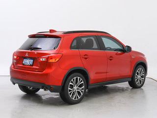 2017 Mitsubishi ASX XC MY17 LS (2WD) Red Continuous Variable Wagon