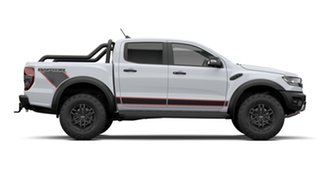 2021 Ford Ranger PX MkIII 2021.75MY Raptor X Pick-up Double Cab Arctic White 10 Speed