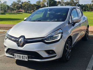 2017 Renault Clio IV B98 Phase 2 Zen EDC Silver 6 Speed Sports Automatic Dual Clutch Hatchback.