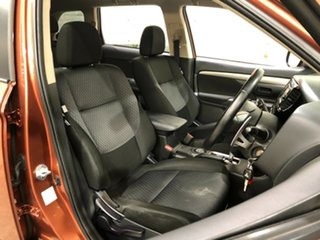 2012 Mitsubishi Outlander ZH MY12 LS Bronze 6 Speed Constant Variable Wagon