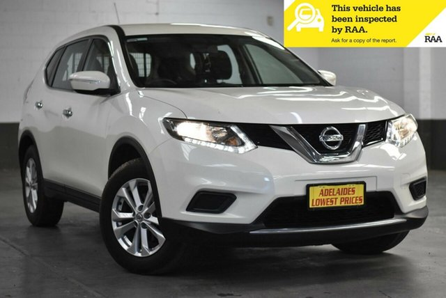 Used Nissan X-Trail T32 ST X-tronic 2WD Enfield, 2016 Nissan X-Trail T32 ST X-tronic 2WD White 7 Speed Constant Variable Wagon