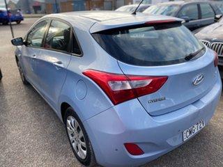 2012 Hyundai i30 GD Active Sky Blue 6 Speed Manual Hatchback.