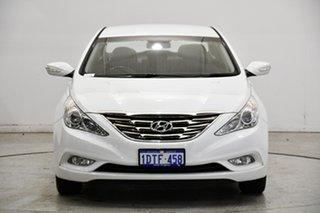 2011 Hyundai i45 YF MY11 Active Noble White 6 Speed Sports Automatic Sedan.