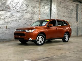 2012 Mitsubishi Outlander ZH MY12 LS Bronze 6 Speed Constant Variable Wagon.
