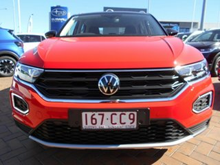 2021 Volkswagen T-ROC A1 MY21 110TSI Flash Red 8 Speed Automatic Wagon