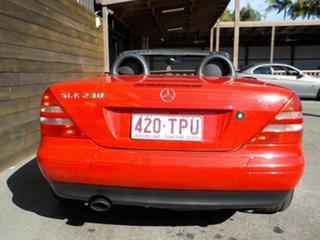 1998 Mercedes-Benz SLK-Class R170 SLK230 Kompressor Red 5 Speed Automatic Roadster