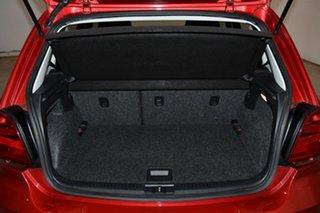 2015 Volkswagen Polo 6R MY16 66TSI Trendline Tornado Red 5 Speed Manual Hatchback