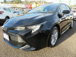 2018 Toyota Corolla Mzea12R Ascent Sport Black 10 Speed Constant Variable Hatchback.