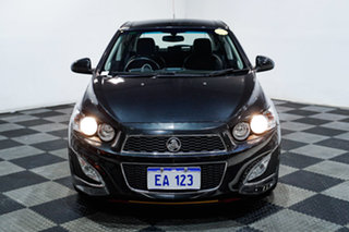 2014 Holden Barina TM MY14 RS Black 6 Speed Manual Hatchback.