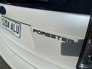 2008 Subaru Forester S3 MY09 X AWD White 4 Speed Sports Automatic Wagon