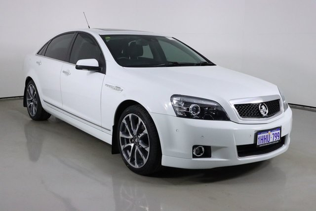 Used Holden Caprice WN MY16 V Bentley, 2015 Holden Caprice WN MY16 V White 6 Speed Auto Active Sequential Sedan