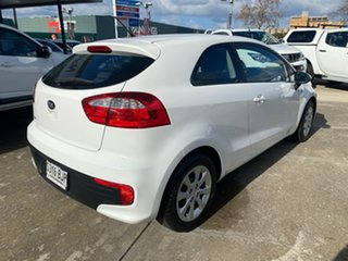 2014 Kia Rio UB MY15 S White 6 Speed Manual Hatchback