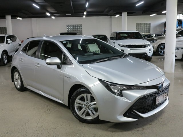 Used Toyota Corolla ZWE211R Ascent Sport E-CVT Hybrid Albion, 2019 Toyota Corolla ZWE211R Ascent Sport E-CVT Hybrid Silver 10 Speed Constant Variable Hatchback