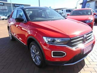2021 Volkswagen T-ROC A1 MY21 110TSI Flash Red 8 Speed Automatic Wagon.