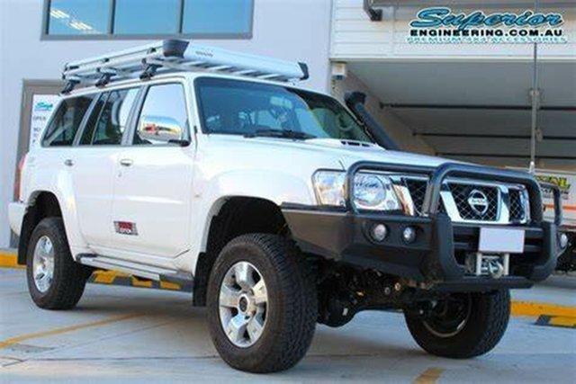 Used Nissan Patrol GU VII ST (4x4) Prospect, 2010 Nissan Patrol GU VII ST (4x4) 5 Speed Manual Wagon