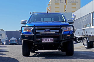 2016 Ford Ranger PX MkII XLS Double Cab Blue 6 Speed Sports Automatic Utility.