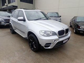 2010 BMW X5 E70 MY10 xDrive 40d Sport Silver Mica Metallic 8 Speed Automatic Sequential Wagon.