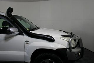 2008 Toyota Landcruiser Prado KDJ120R GXL White 5 Speed Automatic Wagon