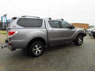 2012 Mazda BT-50 XTR (4x4) Grey 6 Speed Automatic Dual Cab Utility.