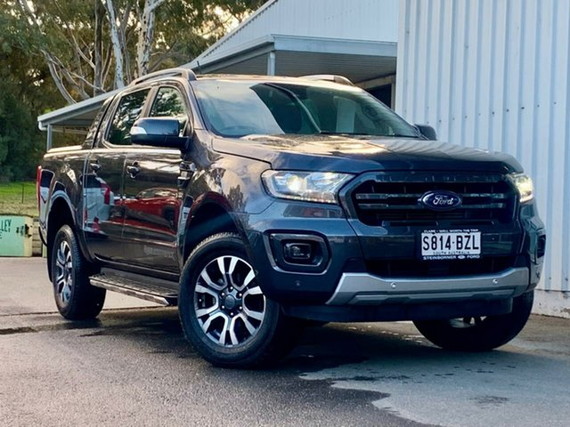 Used Ford Ranger PX MkIII 2019.75MY Wildtrak Clare, 2019 Ford Ranger PX MkIII 2019.75MY Wildtrak Grey 6 Speed Sports Automatic Double Cab Pick Up