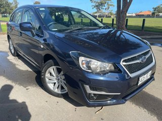 2016 Subaru Impreza G4 MY16 2.0i Lineartronic AWD Blue 6 Speed Constant Variable Hatchback.